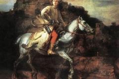 rembrandt5 il cavaliere polacco