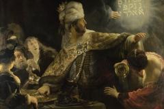 rembrandt7 il festino di baldassarre